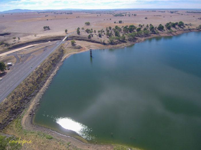 tullaroop reservoir drone 1