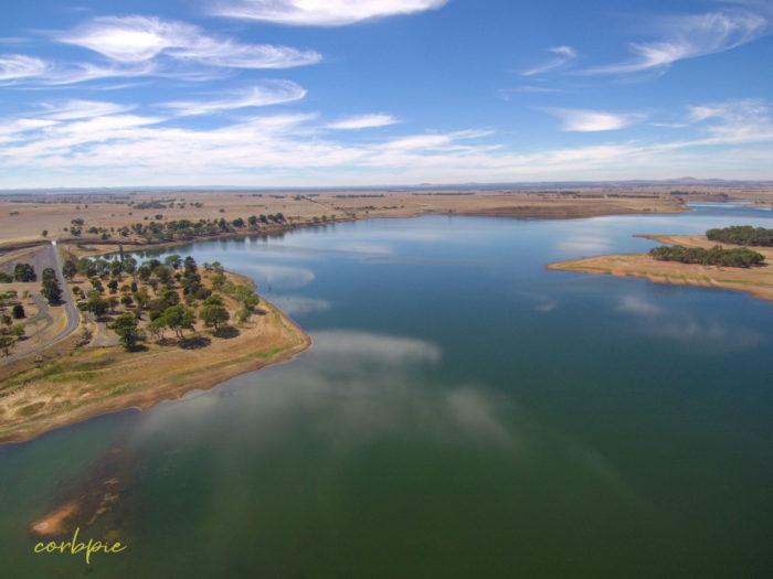 tullaroop reservoir drone 10