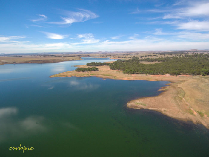 tullaroop reservoir drone 11