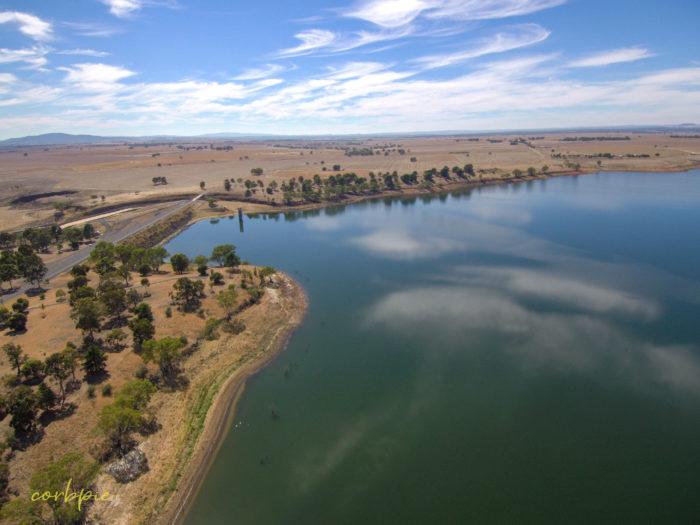 tullaroop reservoir drone 12