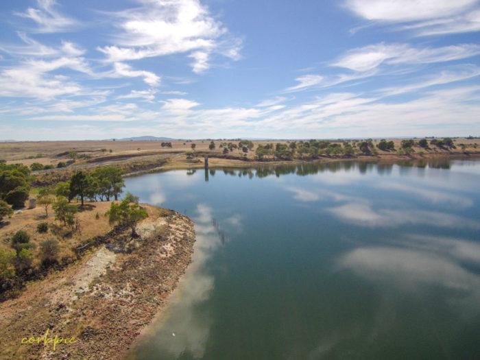tullaroop reservoir drone 13