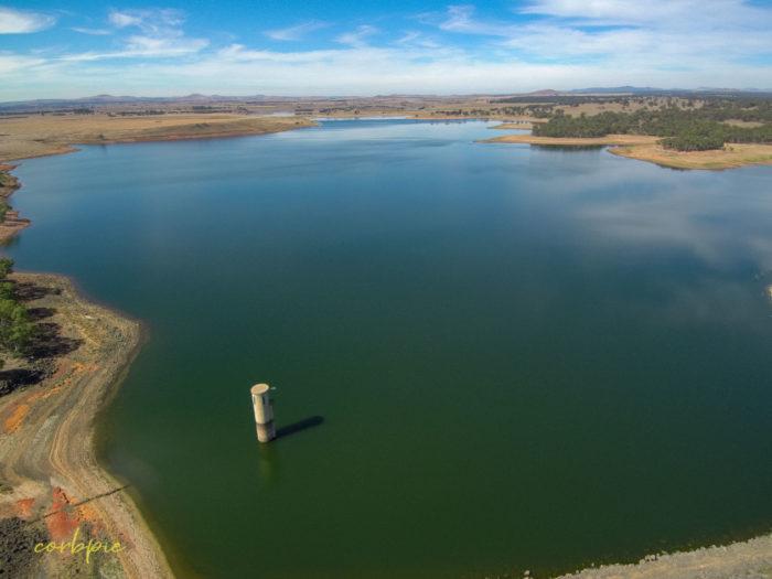 tullaroop reservoir drone 2