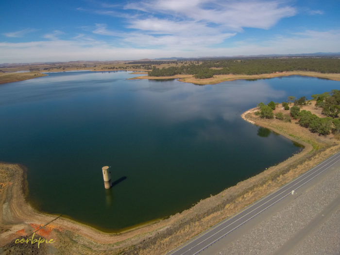 tullaroop reservoir drone 3