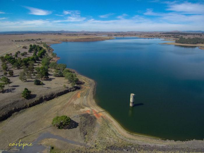 tullaroop reservoir drone 4
