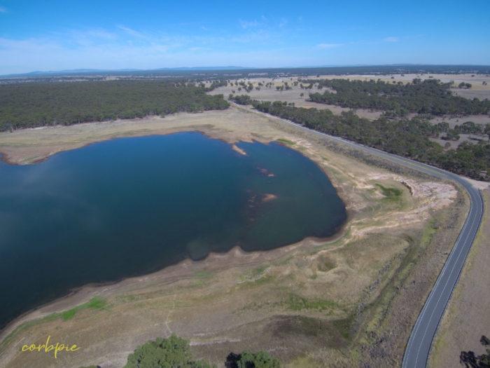 tullaroop reservoir drone 6