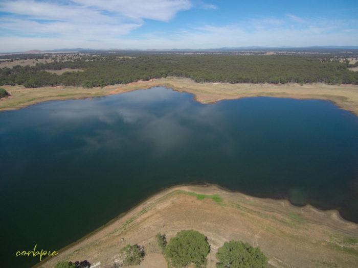 tullaroop reservoir drone 7