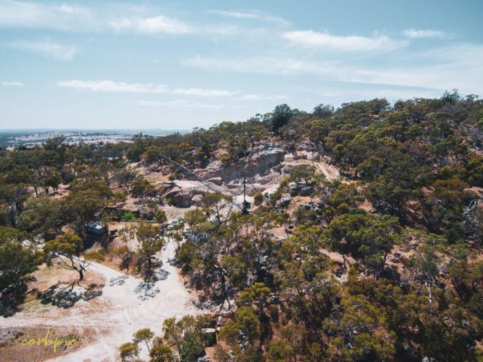 Mount Alexander quarry