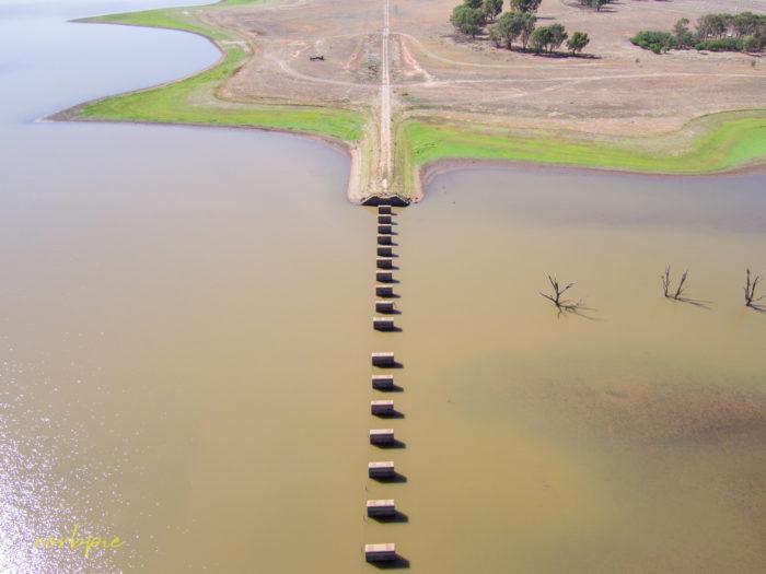 Cairn Curran old bridge drone 3
