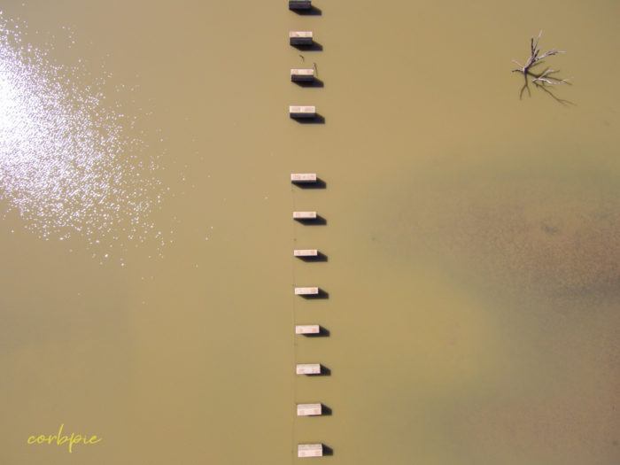Cairn Curran old bridge drone 5