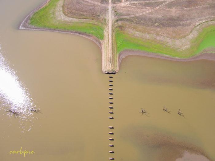 Cairn Curran old bridge drone 7