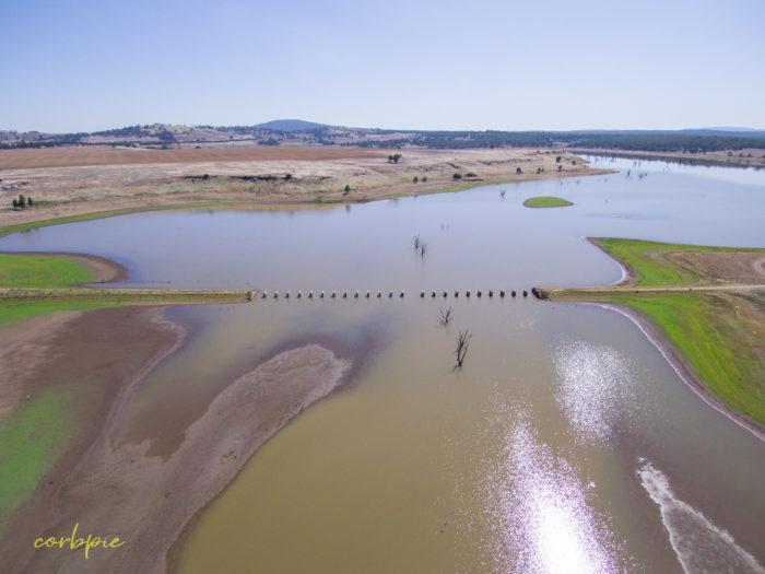 Cairn Curran old bridge drone 8