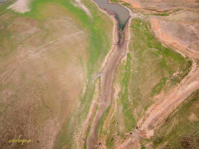 Derrinal Pool Lake Eppalock drone 12