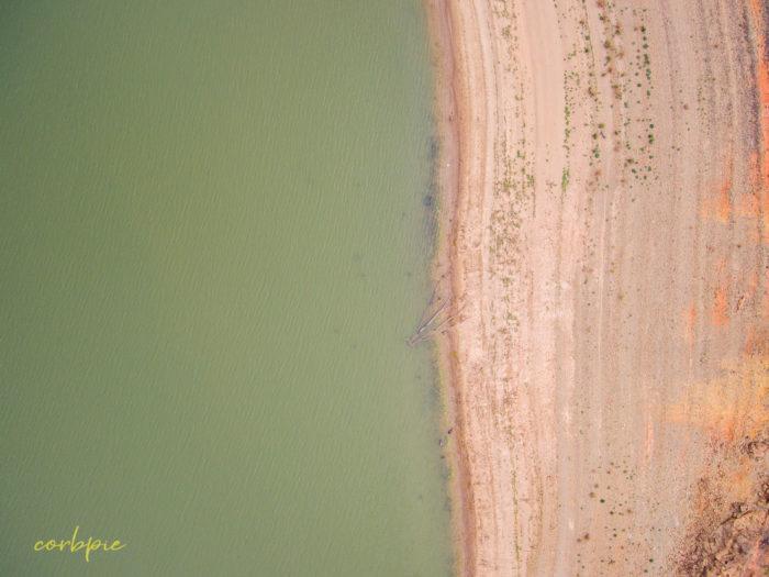 Derrinal Pool Lake Eppalock drone 17