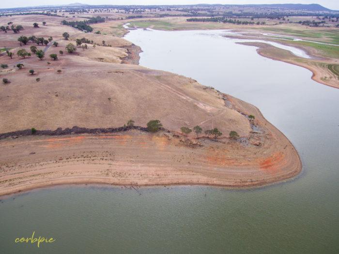 Derrinal Pool Lake Eppalock drone 19