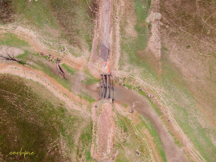 Derrinal Pool Lake Eppalock drone 6