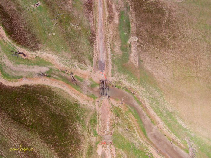 Derrinal Pool Lake Eppalock drone 7