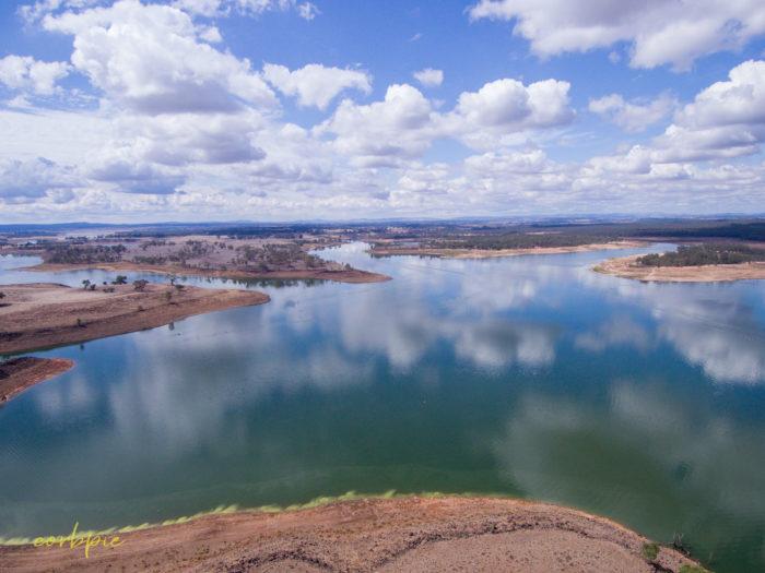 Lake Eppalock Strath Bay drone 12