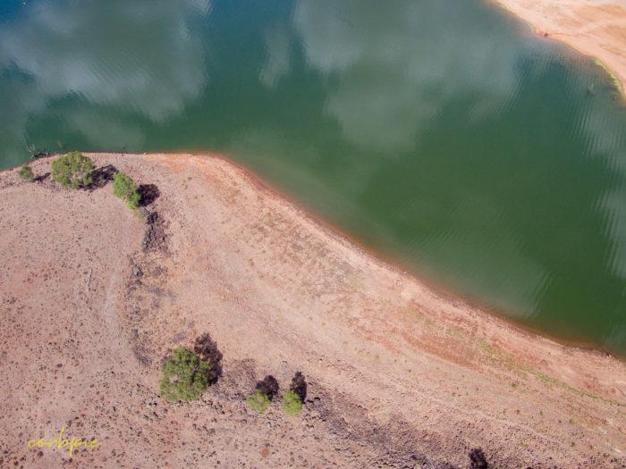 Lake Eppalock Strath Bay drone 16