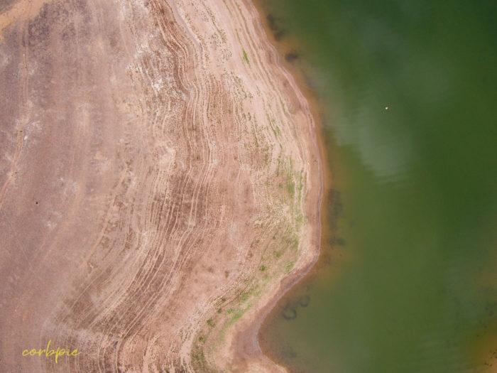Lake Eppalock Strath Bay drone 17