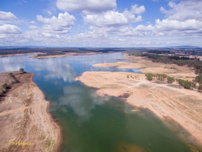 Lake Eppalock Strath Bay drone 19
