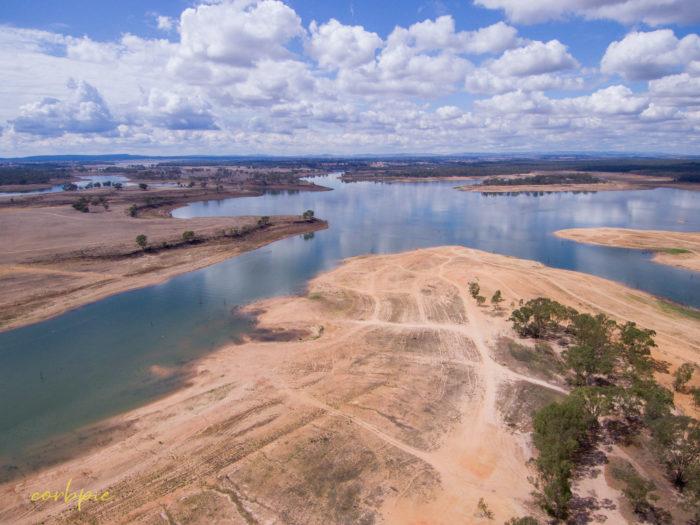 Lake Eppalock Strath Bay drone 3