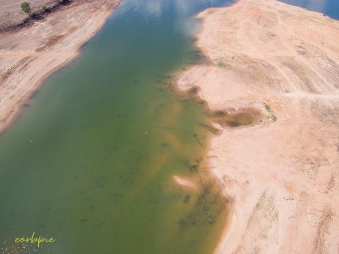 Lake Eppalock Strath Bay drone 4