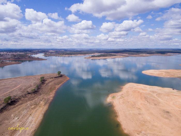 Lake Eppalock Strath Bay drone 5