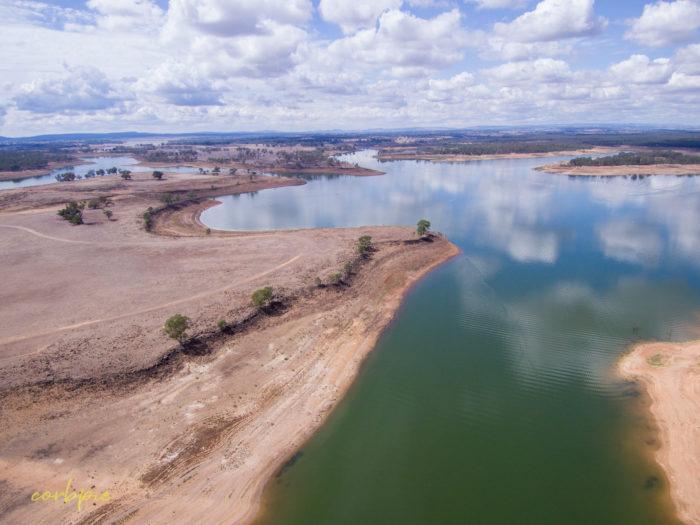 Lake Eppalock Strath Bay drone 7