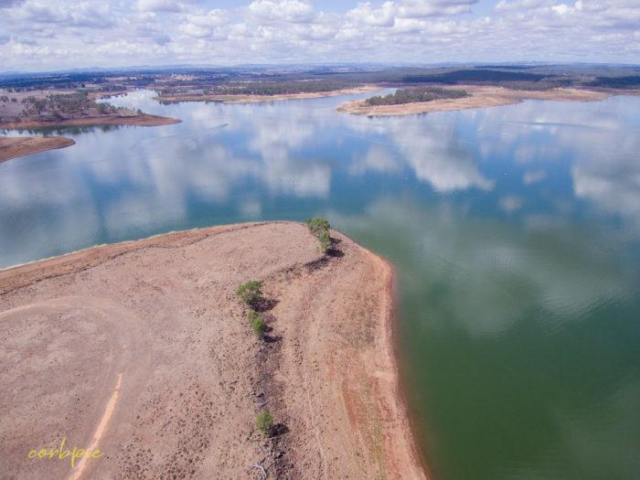 Lake Eppalock Strath Bay drone 8