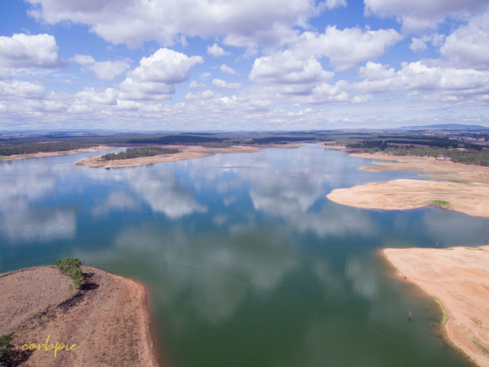 Lake Eppalock Strath Bay drone 9