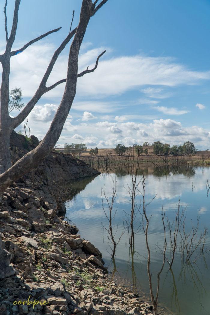 Lake Eppalock dropping levels 16