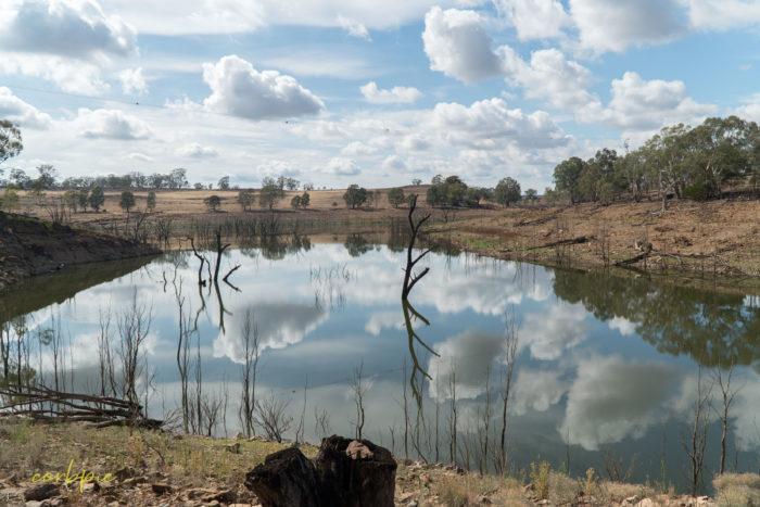 Lake Eppalock dropping levels 23