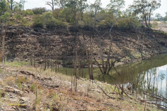 Lake Eppalock dropping levels 26