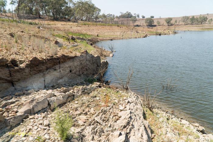 Lake Eppalock dropping levels 3