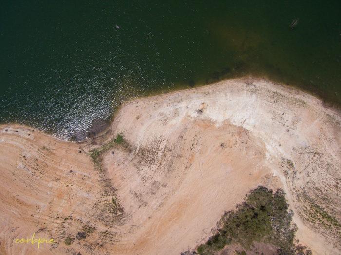 Meridan and Token Island Lake Eppalock drone 11