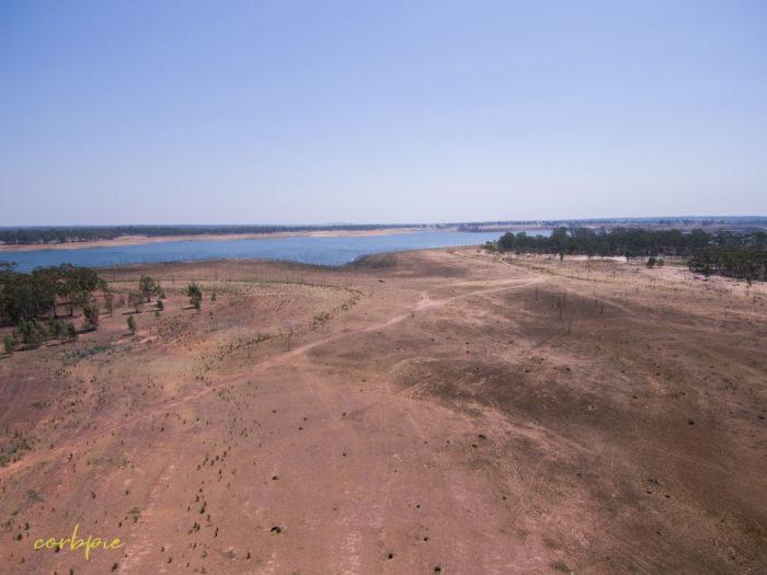 Meridan and Token Island Lake Eppalock drone 19