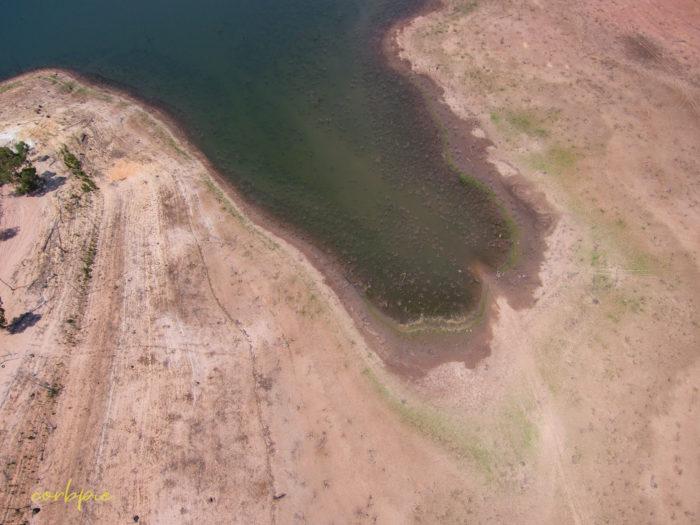Meridan and Token Island Lake Eppalock drone 6