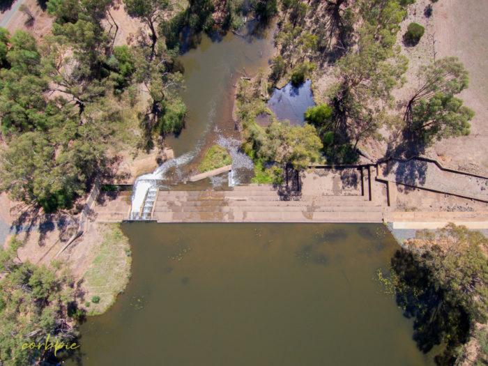 Elmore Weir drone 10