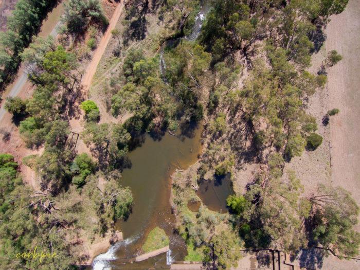 Elmore Weir drone 11