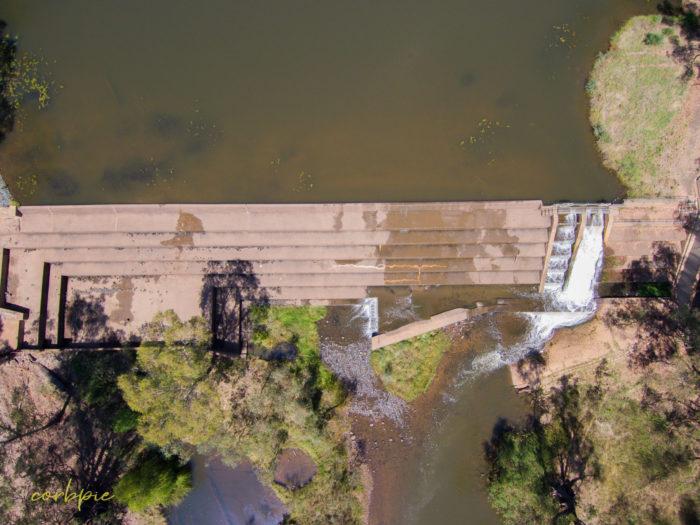 Elmore Weir drone 2