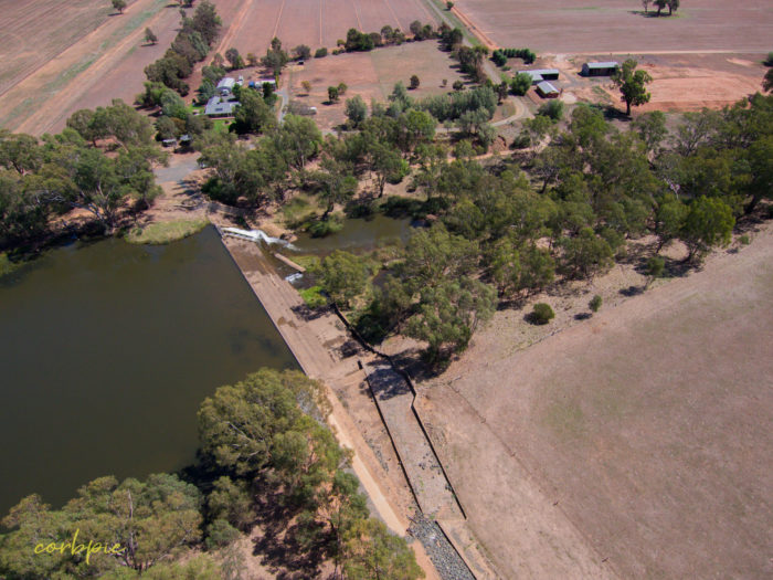 Elmore Weir drone 3