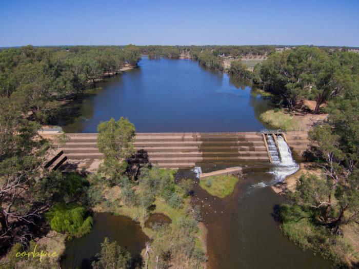 Elmore Weir drone 7