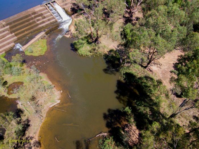 Elmore Weir drone 9