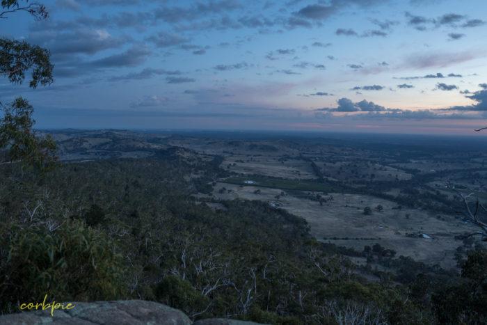 Mount Alexander at dawn