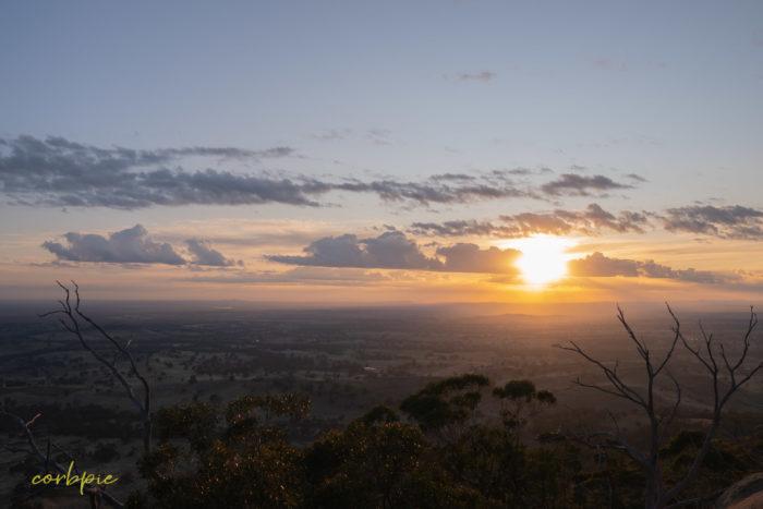 Mount Alexander sunrise